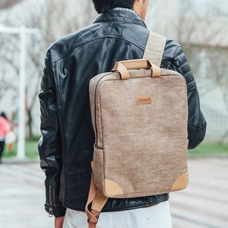 After backpack │ natural water repellent │ paper fiber │ machine washable