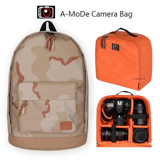 Camera Simple color camera bag back SLR bag (A02x + IN03)