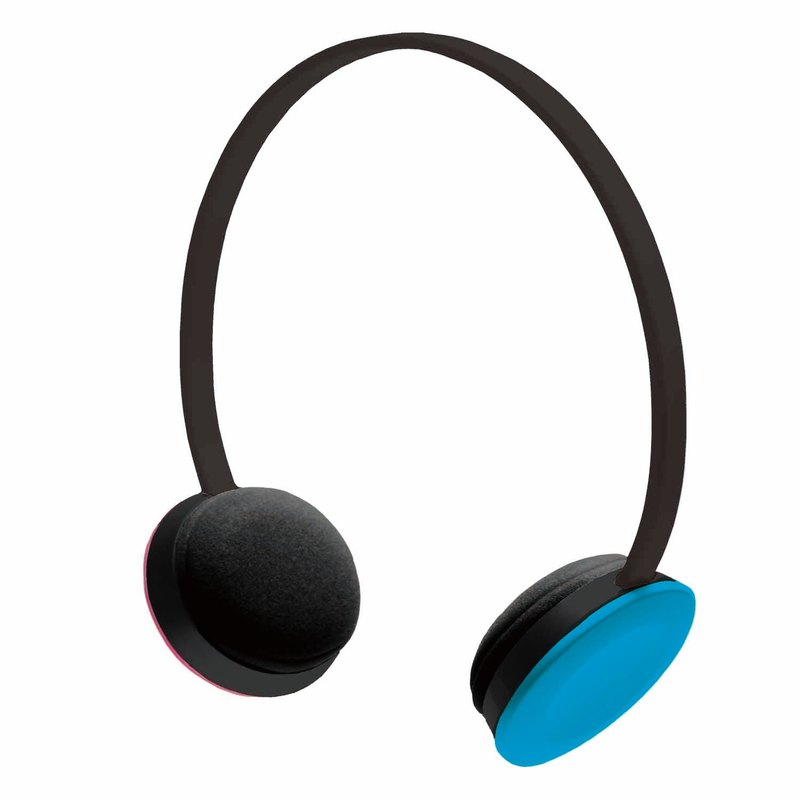 Exclusive live sound system │ │hoomia hospitable [U2 Me] dynamic red and blue. Colorful life. Headset stereo headset (Pinkoi Limited)