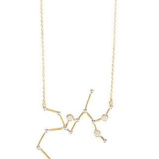 Sagittarius Necklace - gold