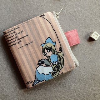 ZoeL * Short Wallet * tree Alice * Alice original illustrations