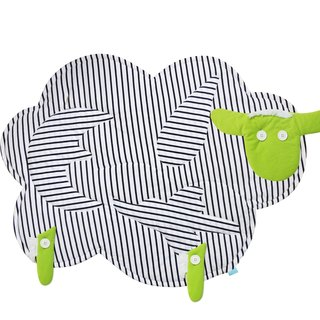 CLARECHEN green goat _ organic stripes