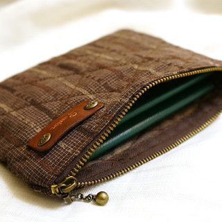 Universal zipper leather cloth