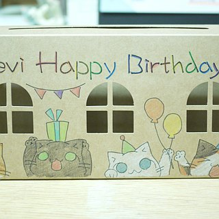 3in1 Hand-drawing cover Gift Box  - Customized Gift Box