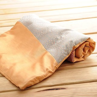 [KAKIBABY] patented anti-mite natural persimmon dyeing - baby cool and comfortable sleep with carrying blanket (solid products for the star pattern, a non-circle)