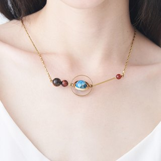Stardust Track Necklace