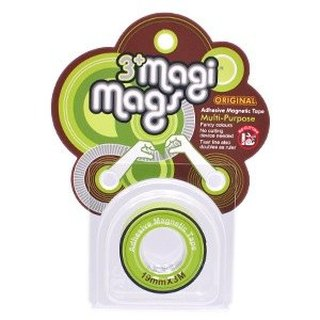 3+ MagiMags Magnetic Tape    19mm x 3M Neon.Green