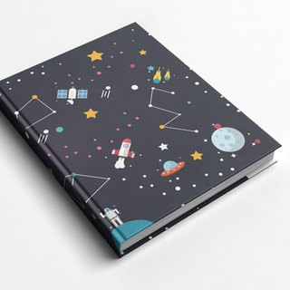 Rococo Strawberry WELKIN Handmade _ Handmade Book / Notebook / Pocket / Diary - Star Adventure