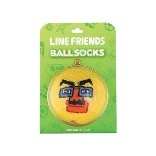 BALL SOCKS_LINE FRIENDS 球襪_變裝莎莉