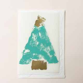 ❄Handmade Christmas Card- German Screen Printing