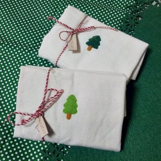 Bag with a tree ~ wool felt tree tote bag