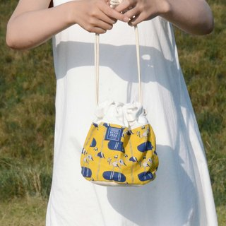 ::Bangstree:: Shoulder Bucket Bag - crane