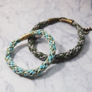 Just Knitting lucky twist-made hand-woven rope twist couple hand ● Made in Hong Kong