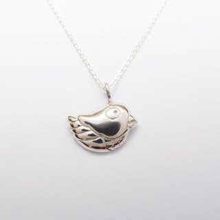 Bird sterling silver necklaces 1