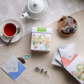 Comprehensive flower tea bag (8 kinds of taste tea) Triangle tea bag / boxed flower tea [HERDOR flower tea]