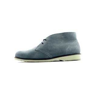 "[Dogyball] As-win water-repellent eco-friendly leather desert boots dark gray ""ECO green shoes"""