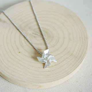 Windmill Necklace of the Wonderful Childhood Memories - 925 Sterling Silver Mode