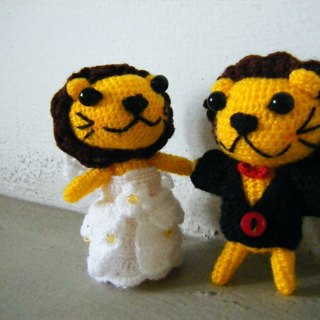 Lion. Wedding Doll (customized part of your wedding dolls)