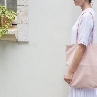 European and American minimalist suede shoulder bag coral pink ::: :::