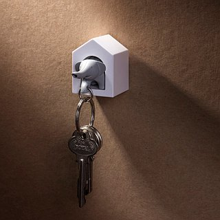 QUALY small elephant key ring
