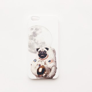[ YONG ] Astronaut Pug iPhone Case