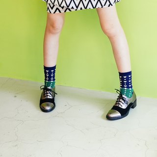 Midnight Blue Socks_Valentine's Day, unisex/quirky/happy socks