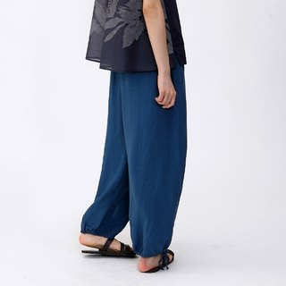 BUFU tencel wide leg pants  P131104