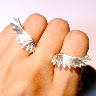 Flying Wing Silver Ring