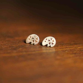 ★ ★ Dream Keeper series of spring! Keeper paragraph 925 sterling silver earrings