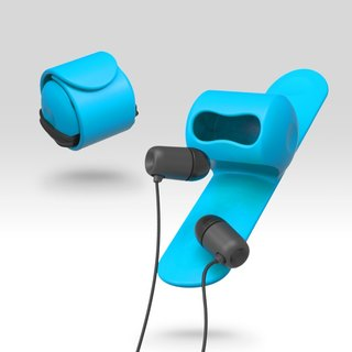 Snappy earphone butler-Blue#PinkoiENcontent