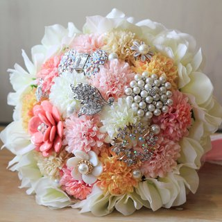 Jewelry Bouquet [classic lace ball Ju] candy powder