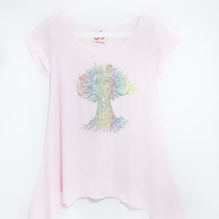 / Valentines Day gift / Women feel umbrella Long Blouse - Thailand crazy tree (the only remaining one)