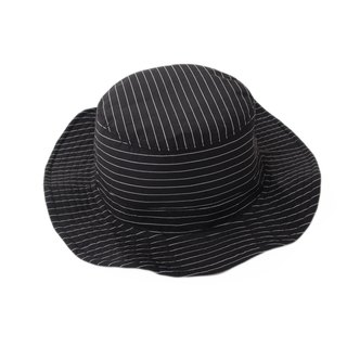 Sevenfold - Waterproof Striped Fisherman Hat waterproof striped hat (black)