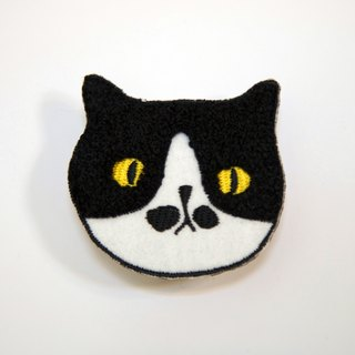 Meow Barber - Mr. Mustache Pin