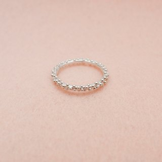 Sterling silver ring  (Only JP#9.5 & 11 available)