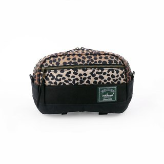 Matchwood Design Matchwood Potential Waist Bag Backpack Crossbody Chest Bag Gradient Leopard Pattern