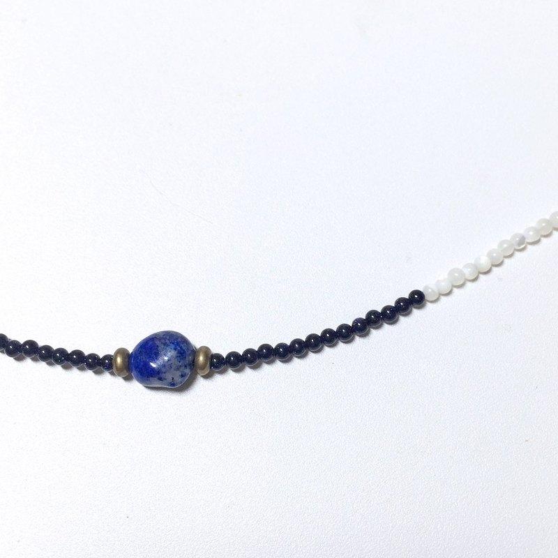 Simplicity*極簡深藍青花石手鍊