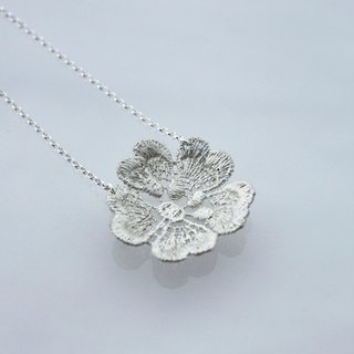 Elegant try - lace silver