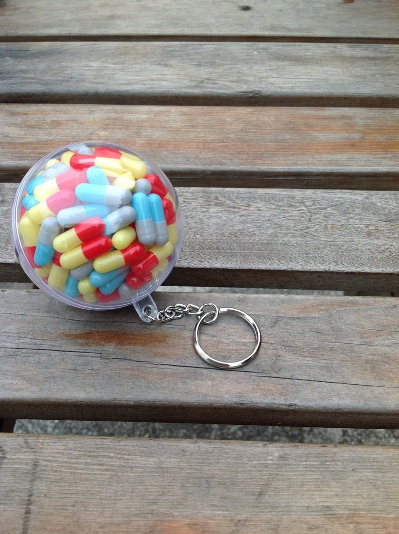 Ball rescue series keyring - painted days Wish