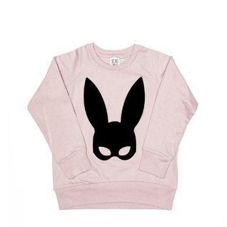 2015 Spring Beau loves pink Rabbit mask casual shirt