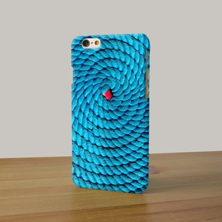 Blue Rope notes pattern   3D Full Wrap Phone Case, available for  iPhone 7, iPhone 7 Plus, iPhone 6s, iPhone 6s Plus, iPhone 5/5s, iPhone 5c, iPhone 4/4s, Samsung Galaxy S7, S7 Edge, S6 Edge Plus, S6, S6 Edge, S5 S4 S3  Samsung Galaxy Note 5, Note 4, Note