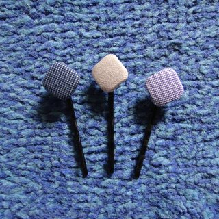 (C) _ Blue Violet Milot cloth buttons small hairpin corners S20ASZ23Z24Z25
