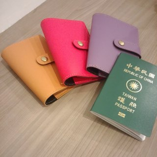 [Manual] safe journey passport holder ---Macaron color--- before the end of 12 free Christmas gift wrapping