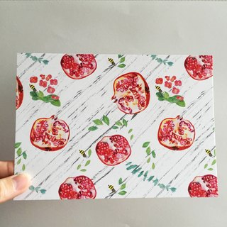 Pomegranate Pomegranate Postcards