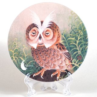 Artists Series coaster - Guo Yu Jun - wake up