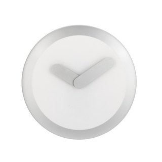 NeXtime - Focus Silver Swing Clock - silver