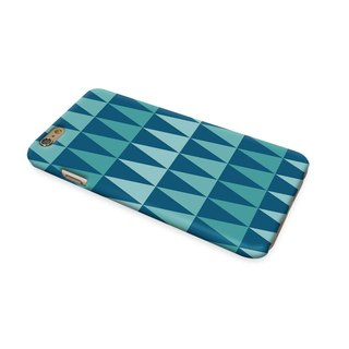 Argyle Blue Pattern 3D Full Wrap Phone Case, available for  iPhone 7, iPhone 7 Plus, iPhone 6s, iPhone 6s Plus, iPhone 5/5s, iPhone 5c, iPhone 4/4s, Samsung Galaxy S7, S7 Edge, S6 Edge Plus, S6, S6 Edge, S5 S4 S3  Samsung Galaxy Note 5, Note 4, Note 3,  No