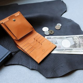 isni [cards &coin short wallet ]  handmade leather