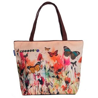 COPLAY  tote bag-watercolor flowers