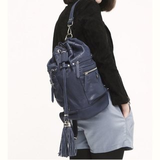 ► Jennifer | shoulder bag ● Roan cylinder backpack